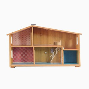 Mid-Century Modern Scandinavian Göteborg Doll House from Lundby