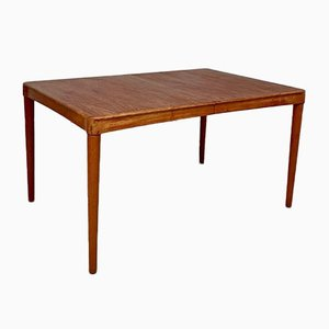 Large Mid-Century Danish Teak Dining Table by HW Klein for Bramin