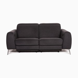 Dark Grey Fabric Madison 2-Seat Sofa from BoConcept