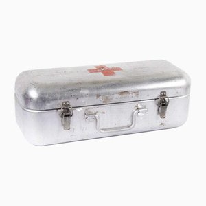 Aluminium Original Red Cross Survival Rations Box, 1960s