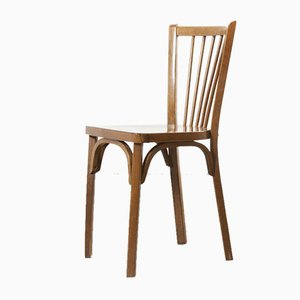 French Bentwood Bistro Dining Chairs from Baumann, 1930s, Set of 12