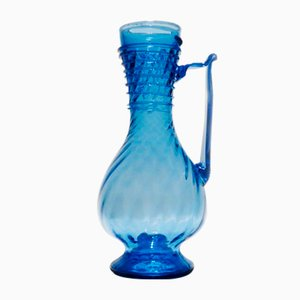 Cobalt Roman Decanter