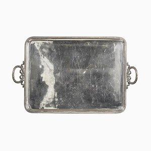 Vassoio da portata grande color argento