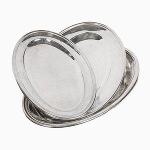 Silbernes Geschirr Set