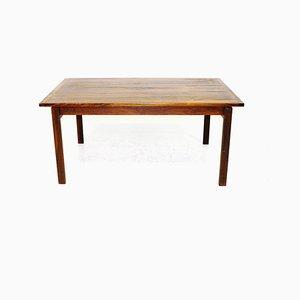 Table Basse Modèle Linjett en Palissandre et en Daim par Anders Löfgren pour Tingströms, 1960s
