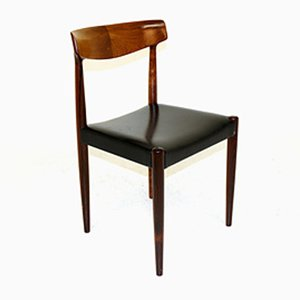 Danish Rosewood Dining Chairs by Knud Faerch for Slagelse Møbelværk, 1960s, Set of 2