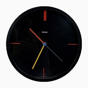Bauhaus Clock from Philips, 1980s