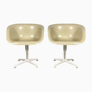 Butacas La Fonda de Charles & Ray Eames para Herman Miller, años 70. Juego de 2