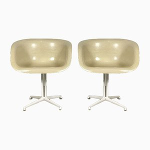 La Fonda Armchairs by Charles & Ray Eames for Herman Miller, 1970s, Set of 2