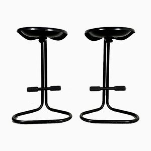 Tractor Stools by Rodney Kinsman for Bieffeplast, 1980s, Set of 2