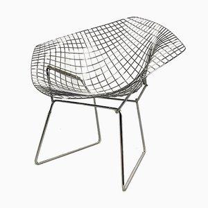 Chromed Diamond Side Chair by Harry Bertoia for Knoll Inc. / Knoll International, 1950s