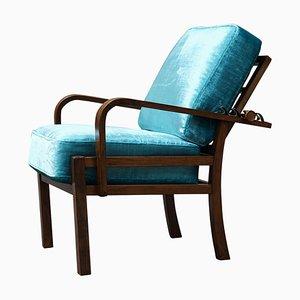 Verstellbarer Vintage Sessel, 1930er