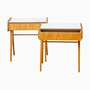 Vintage Side Tables by František Jirák, Set of 2
