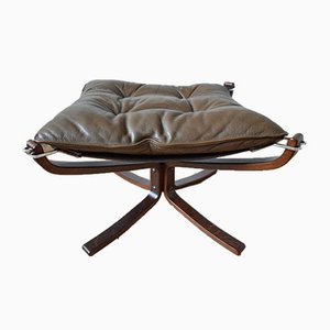 Mid-Century Falcon Footstool by Sigurd Ressell for Vatne Møbler, 1970s