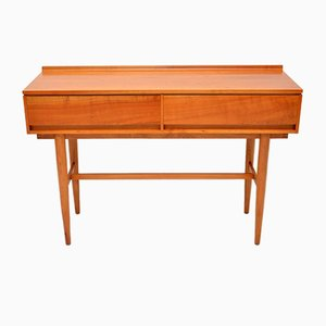 Vintage Satin Wood Side Table from Beresford & Hicks, 1960s