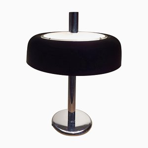 Large Mid-Century Mushroom Table Lamp from Hillebrand, 1970s