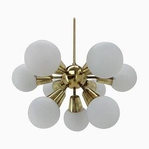Mid-Century Sputnik Chandelier from Kamenicky Senov, 1960s