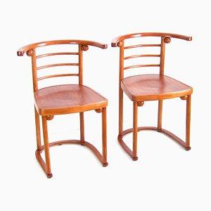 Chaise Nr. 728 par Josef Hoffmann pour Jacob & Josef Kohn