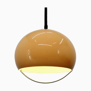 Large Mid-Century Pendant Lamp by Harvey Guzzini for Meblo, 1970s