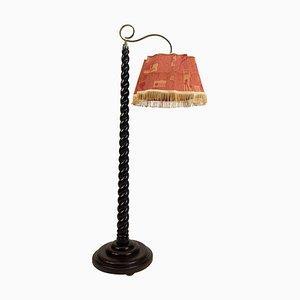 Lámpara de pie con altura regulable, años 10