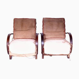 Armchairs by Jindrich Halabala, 1920s, Set of 2