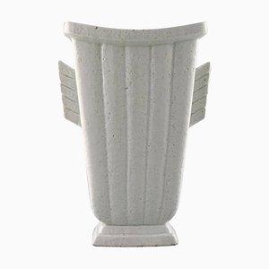 Schwedische Chamotte Vase von Gunnar Nylund für Rörstrand