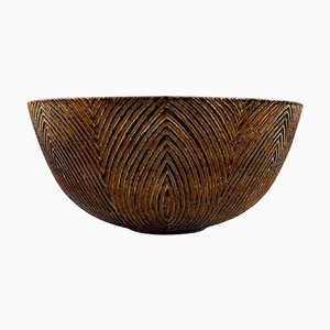 Large Plain Bowl by Axel Salto for Royal Copenhagen, 1964