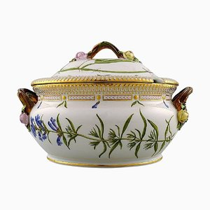 Flora Danica Porcelain Tureen Number 20/3558 from Royal Copenhagen