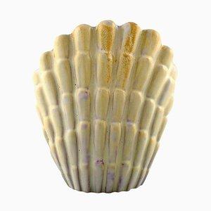 Muschelförmige Art Deco Vase von Vicke Lindstrand für Upsala-Ekeby