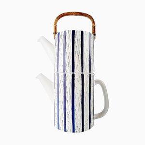 2-Piece Teapot by Stig Lindberg for Gustavsberg