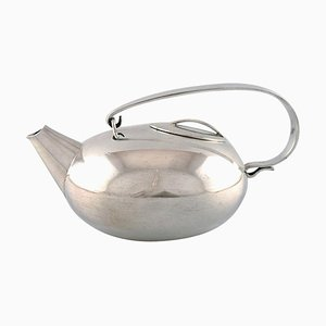 Modernist Teapot by Lino Sabattini for Christofle, 1960s