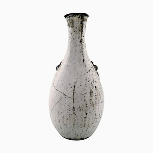 Glasierte Vase von Svend Hammershøi für Kähler, Denmark, 1930er