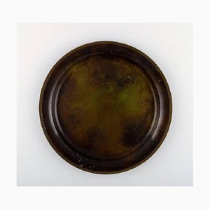 Bronze Bowl or Dish by Just Andersen, 1930s