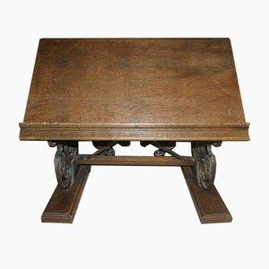 Antike Französische Tisch Lectum