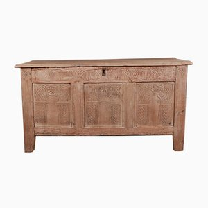 English Oak Coffer, 1690s