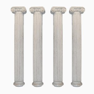 Original Painted Half Columns, Set of 4