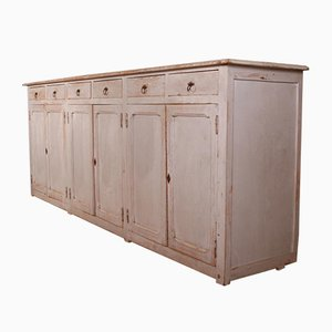 Antique French Painted Enfilade Sideboard