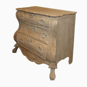 Bleached Dutch Commode, 1790s