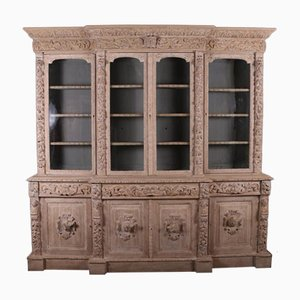 Bleached Bookcase, 1860s