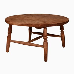 Antique Low Circular Table