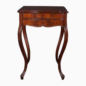 Französischer Mahagoni Tisch, 1880er
