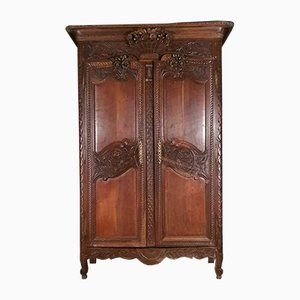 French Oak Armoire, 1810s