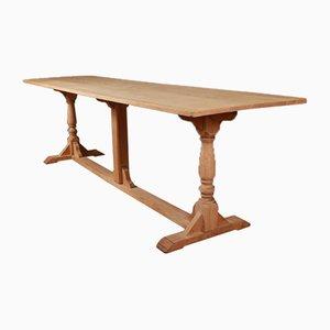 Antiker Englischer Eichenholz Tisch