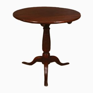 English Oak Tripod Table, 1780s