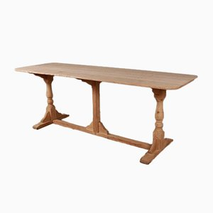 English Trestle Table, 1880s