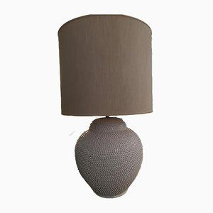 Mid-Century Italian Ceramic Table Lamp by Alessi, 1970s