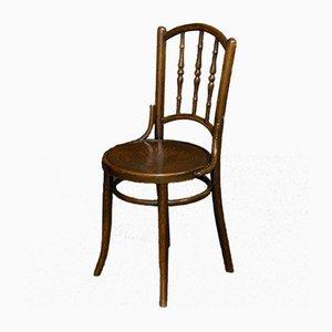 Antique Bentwood Dining Chairs from Mundus & Jacob & Josef Kohn, Set of 4