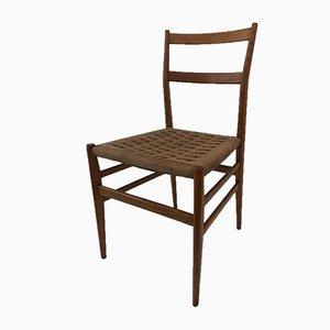 Leggerà Esszimmerstühle von Gio Ponti für Cassina, 1960er, 4er Set