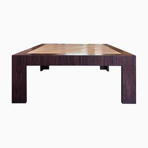 Table Basse Vintage en Macassar
