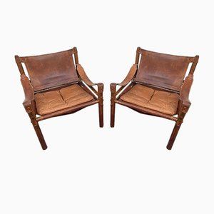 Rosewood Armchairs by Arne Norell for Arne Norell, 1960s, Set of 10